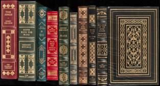 350: 15 vols Franklin Library best-loved books