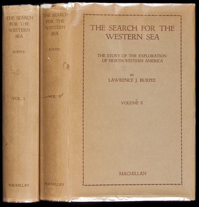 15: Search for the Western Sea by L.J. Burpee