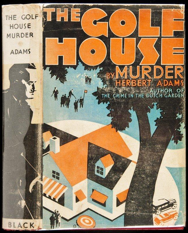 2: The Golf House Murder 1st in dj 1933