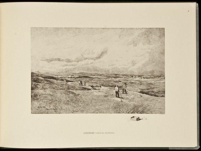 3: Views of Scotland Greens art by John Smart 1986