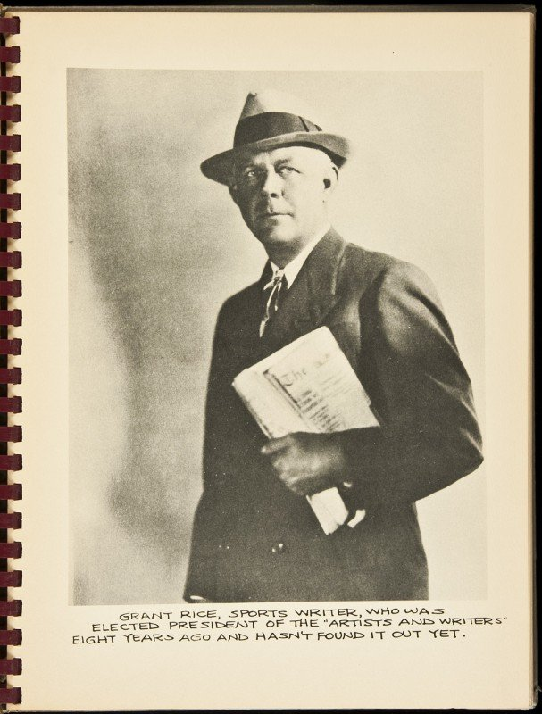 10: Artists & Writers Golf Association, 1948 yearbook