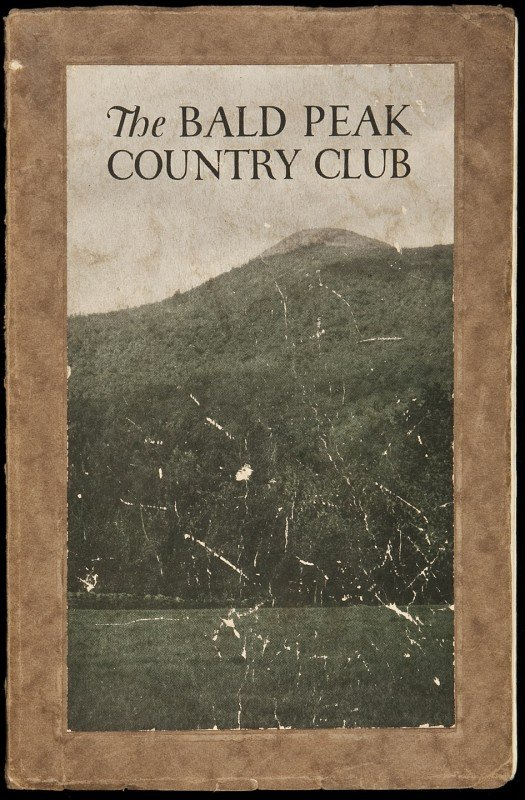 15: The Bald Peak Country Club course guide 1920
