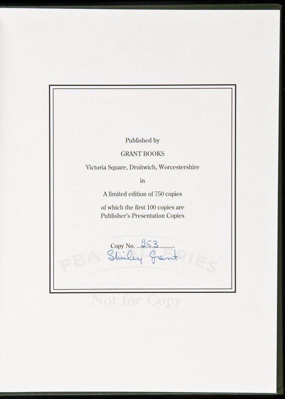 16: Hazards, Grant Books signed Shirley Grant 1/750