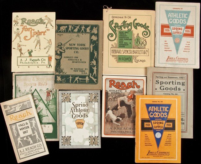 52: 18 catalogues for athletic goods, including golf