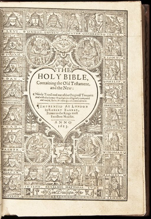 20: 1613-14 King James Bible