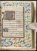83: Manuscript Book of Hours 15th century