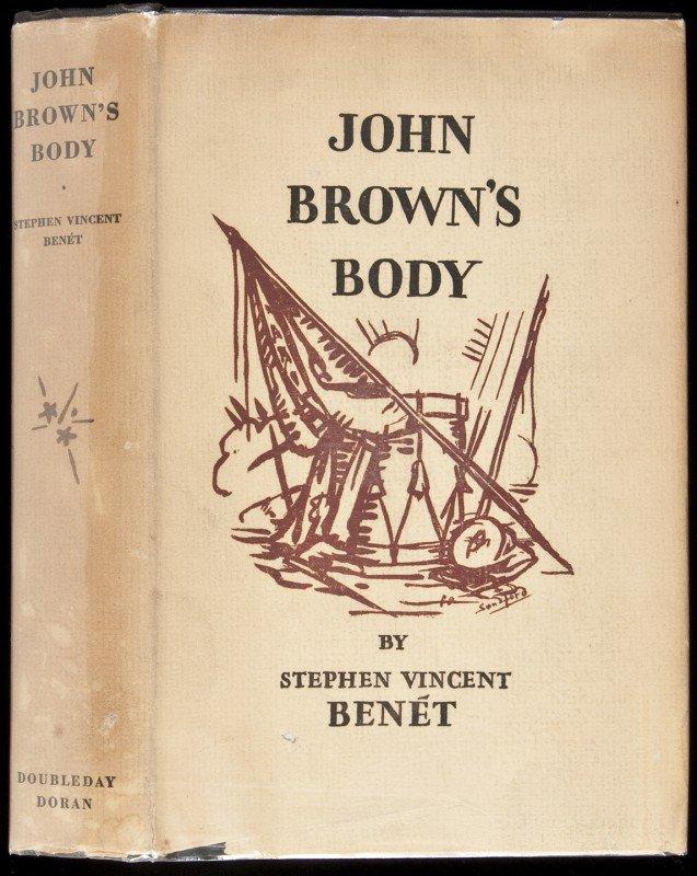 2: John Brown's Body by Stephen Benet in dj