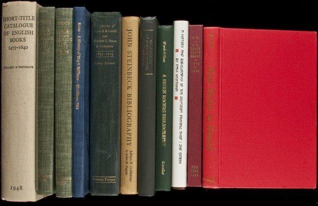 4: 11 bibliographies of Lit & fine presses