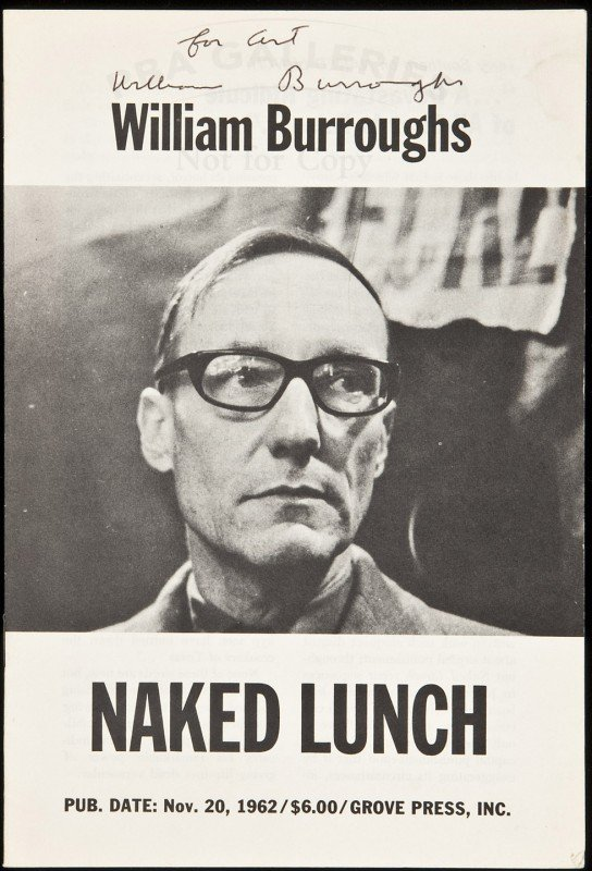 10: Pre-pub brochure for Naked Lunch
