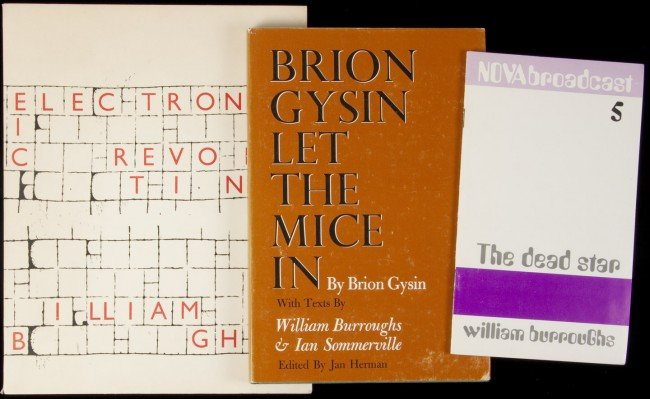11: Three items with writings by William Burroughs