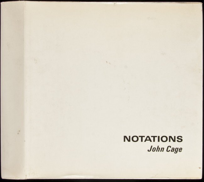 12: Notations by John Cage 1st in dj