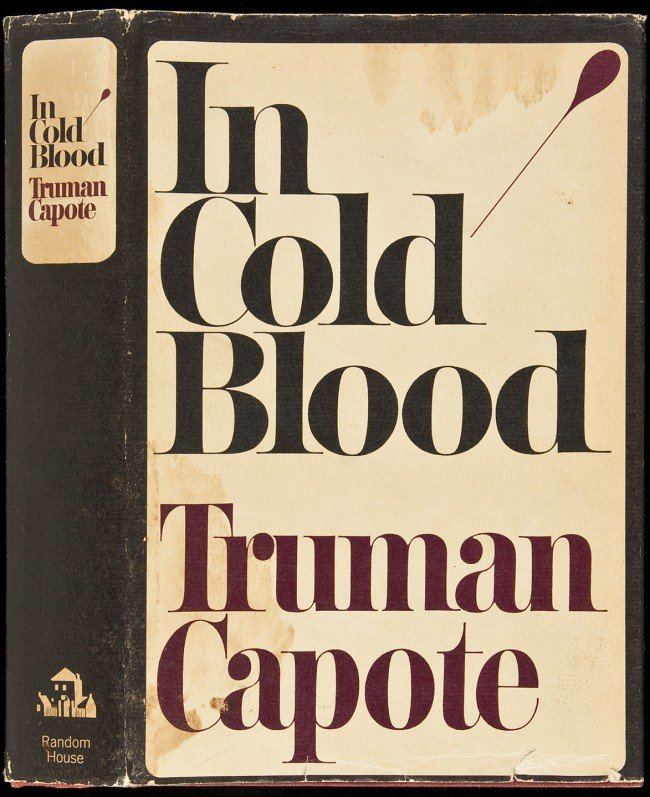 13: In Cold Blood 1st in dj by Truman Capote