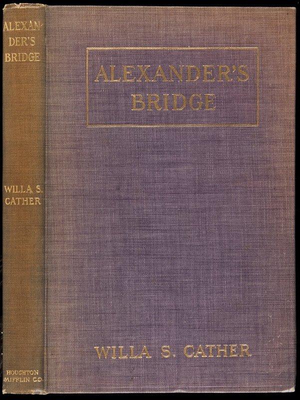 14: Alexander's Bridge 1st ed, 2nd issue