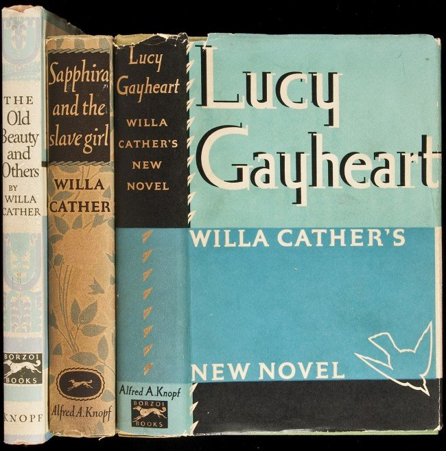 17: 3 titles by Willa Cather