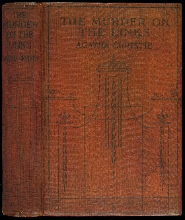 19: Christie's Murder on the Links 1st edition London