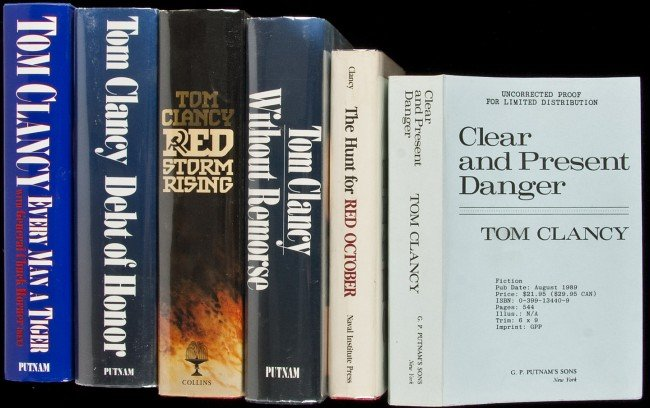 20: 69 volumes by Tom Clancy