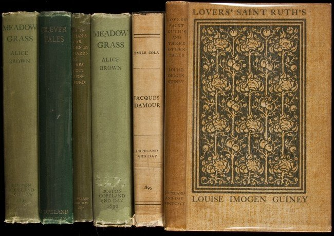 23: Six works published by Copeland and Day