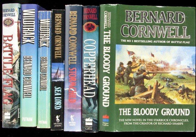24: 13 volumes by Bernard Cornwell