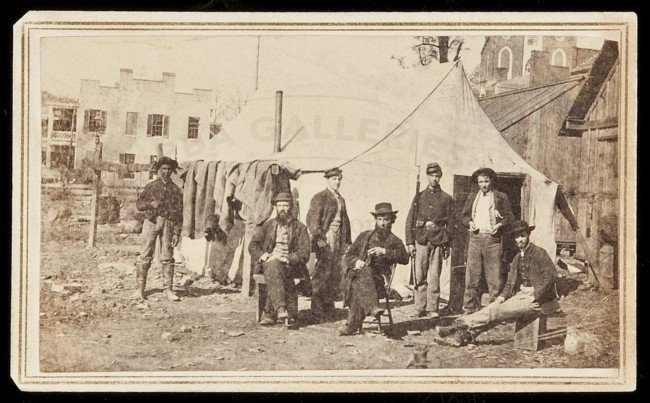 29: CDV of Pinkerton Agents (?) in Civil War