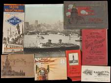103 Group of volumes  ephemera from the Worlds Fair
