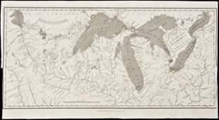 264 Map of upper Mississippi basin 1824