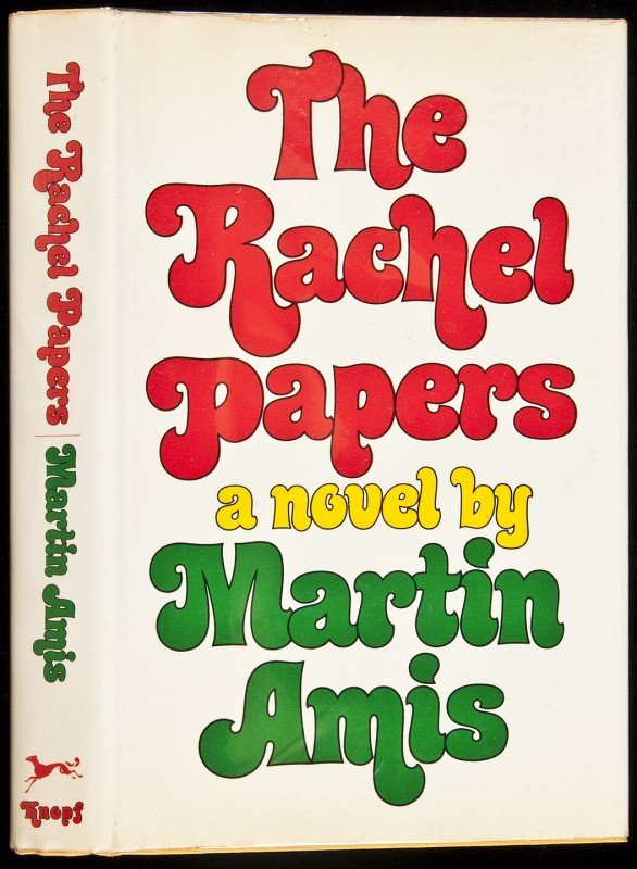 11: The Rachel Papers 1st us edition in dj