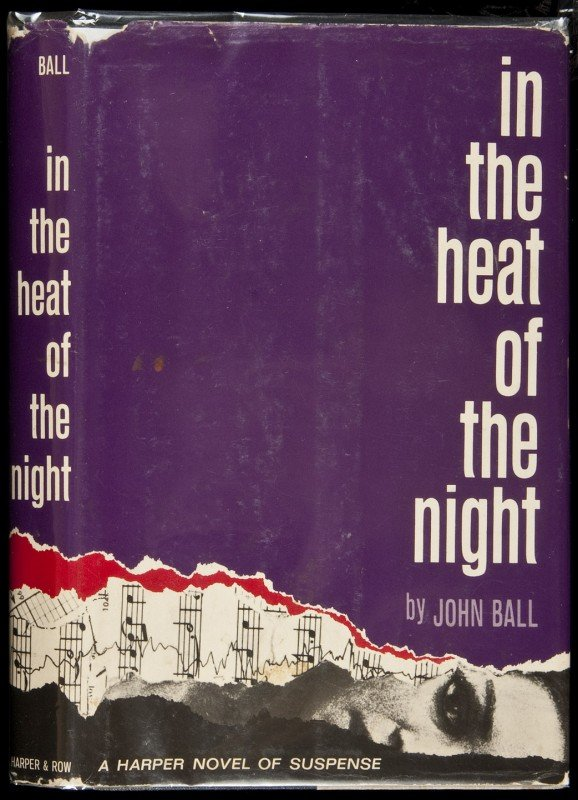 14: In the Heat of the Night 1st ed in dj