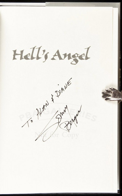 15: Hell's Angel signed by Ralph Sonny Barger 1st