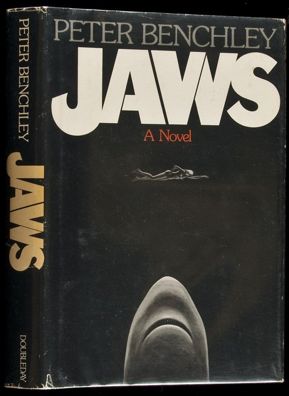 21: Jaws 1st ed in dj by Peter Benchley