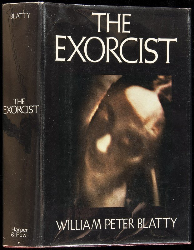 23: The Exorcist by Wm Peter Blatty 1st in dj