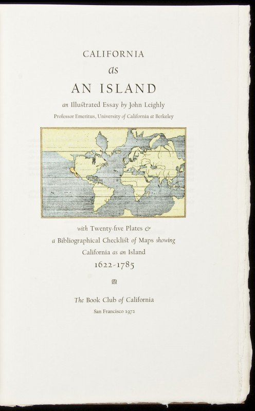 246: Leighly's California as an Island, One of 450