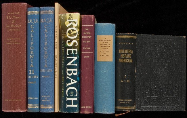 2: Group of bibliographies and books about books