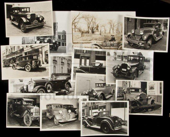 3: Photos of vintage automobiles in San Francisco