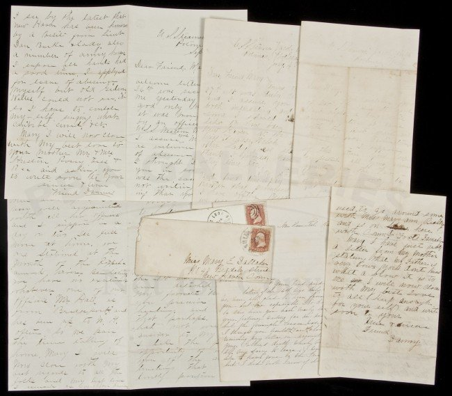 21: Letters from Civil War sailor