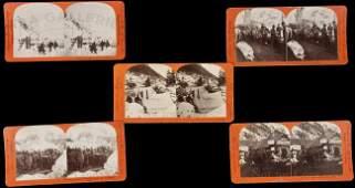 75: Stereo views of Alaska Gold Rush