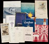 239 Collection from various ship lines and cruises