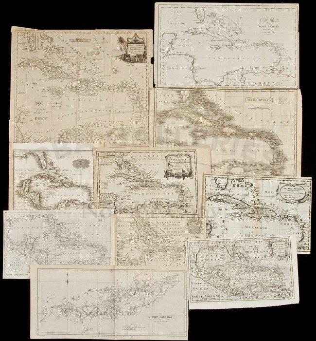 363: Ten maps of the West Indies