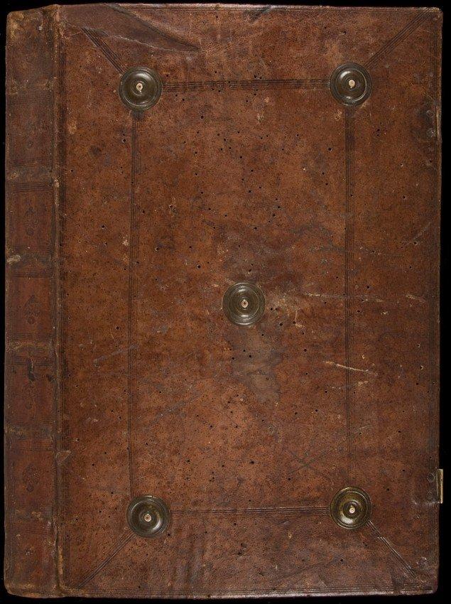 7: Incunabula edition of Aristotle's Physics 1483