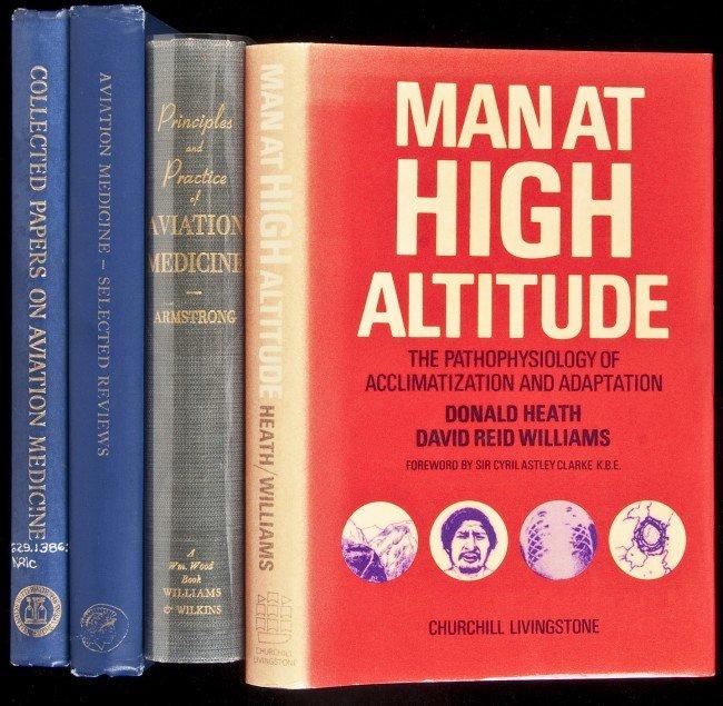 10: Four volumes on Aviation Medicine