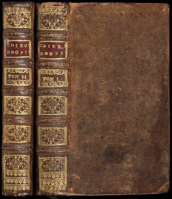 21: 2 vols Le Chirurgien d'hopital 1734-33 - Belloste