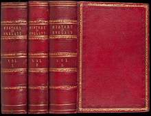 93 History of England 3 vols finely bound