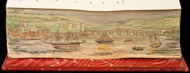 113: Divine Comedy by Dante with Fore Edge Painting