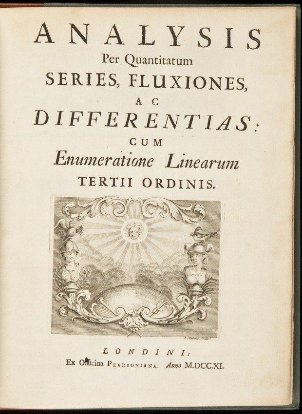 176: Newton's claim to inventing Calculus, 1711