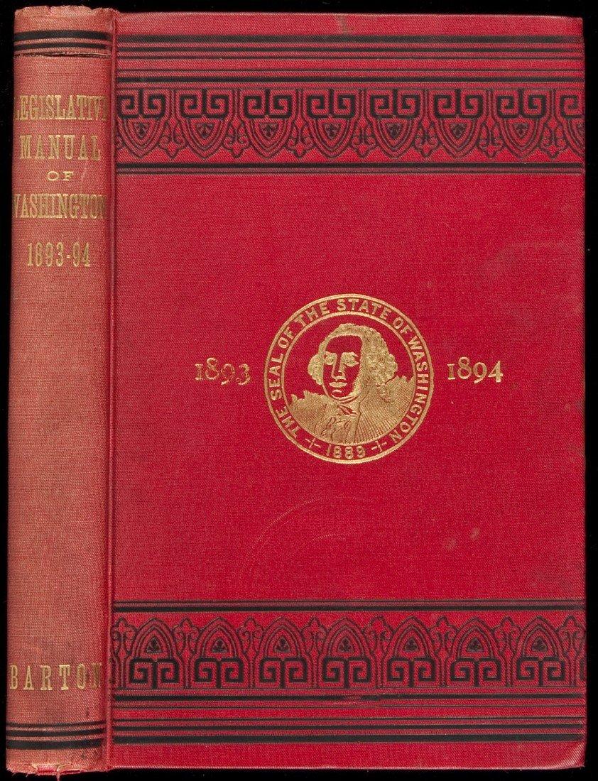 16: Barton's Washington Legislative handbook 1893