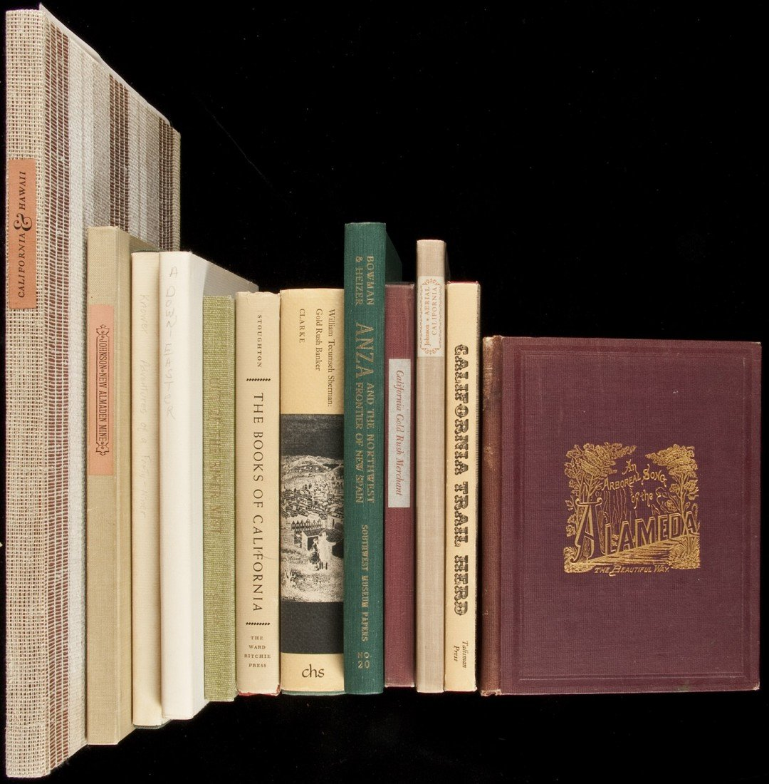 187: 12 volumes of mostly western Americana