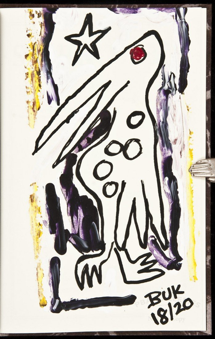 1: Bukowski Africa, Paris, Greece 1 of 20 copies