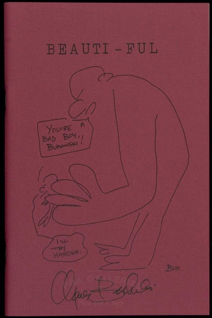 16: Beauti-ful [& Other Long Poems] signed Bukowski