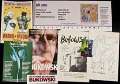 288 Bukowski ephemera chapbooks broadsides etc