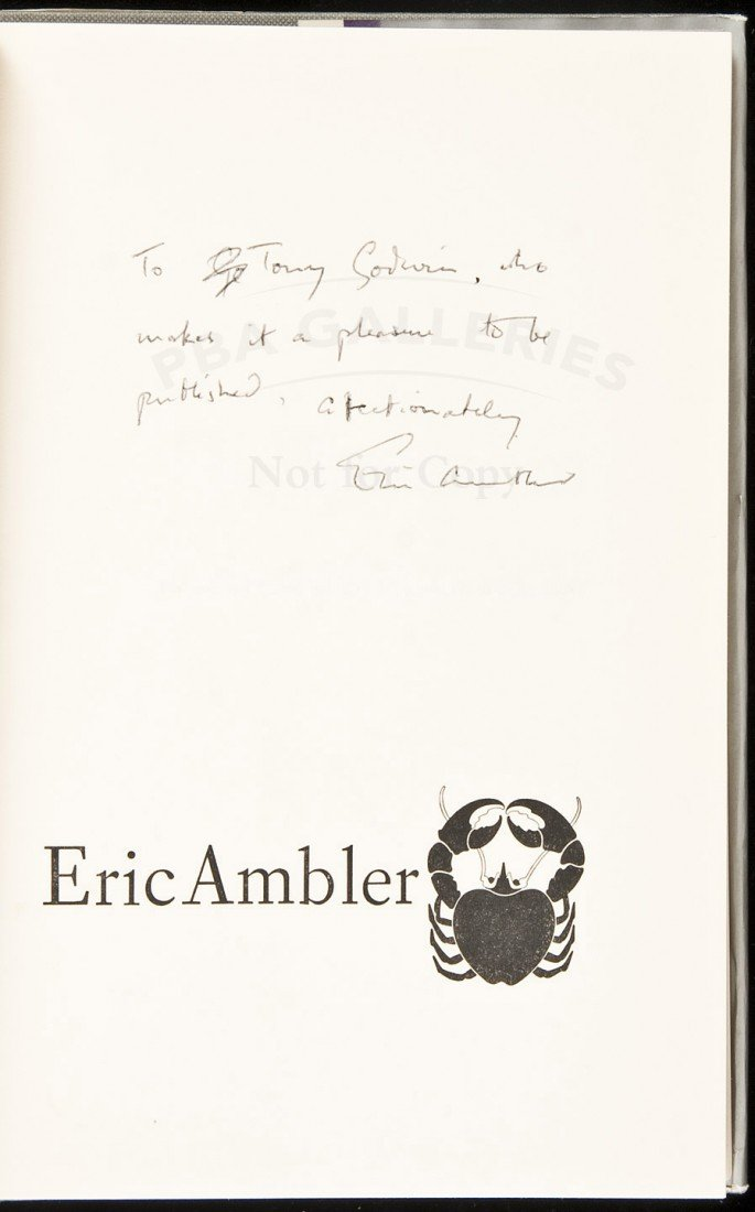 6: The Intercom Conspiracy signed by Ambler