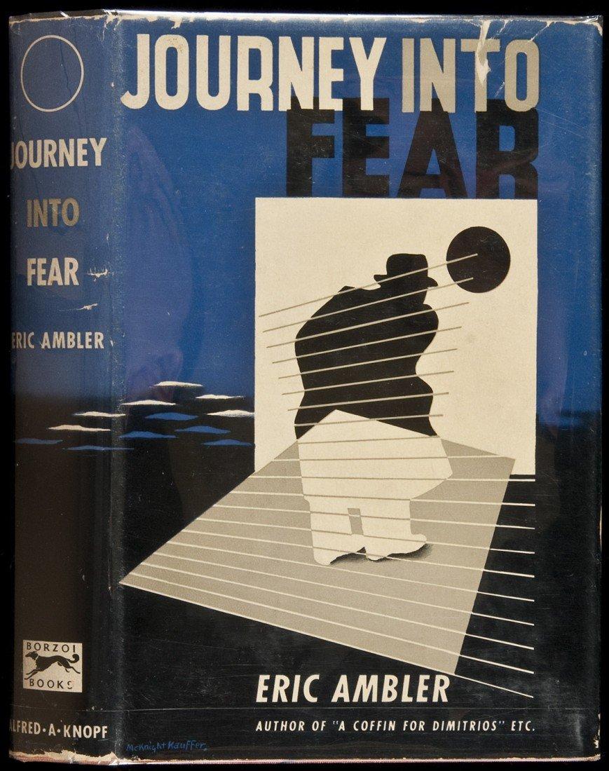 7: Journey Into Fear 1st Amer ed in dj